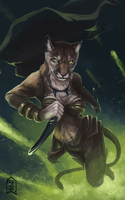 Commission: puma by Brevis--art