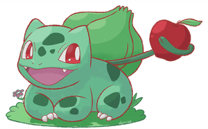 001 - Bulbasaur by Volmise