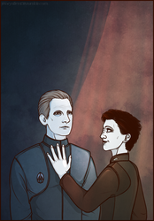DS9: Kira/Odo by maryallen138