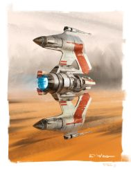 E-Wing Starfighter by Benef