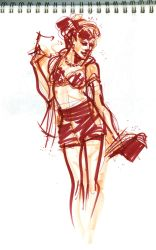 Dr. Sketchy's :: Nov. 2011 by ChristineAltese