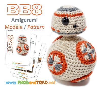 BB8 Amigurumi Pattern FROGandTOAD Creations by FROG-and-TOAD