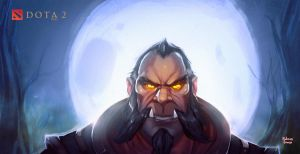 Lycanthrope Dota2 by negorobson
