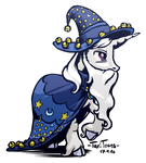 The Unicorn Wizard by TariToons