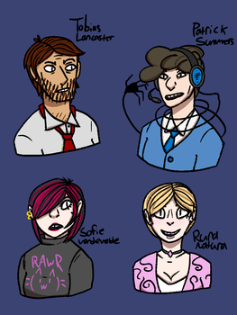 Paranormal Activity Investigation Gang by squidspeaker