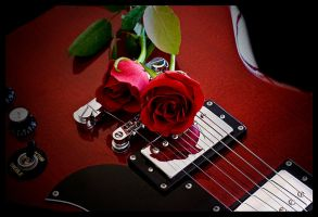 Roses and Strings by HarryZero