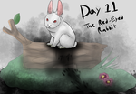 Monstober Day #11- The Red-Eyed Rabbit by Moracalle
