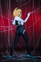 Spider Gwen by Maxsy66