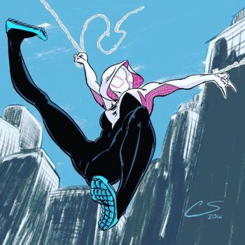 SpiderGwen by Citrusman19