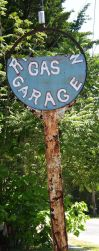 Old Gas Sign Stock by FairieGoodMother