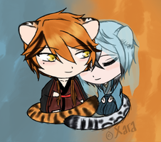 KM - Kitty Cheebs by XaraTheCat
