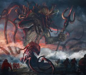 Sea Lord kraken Jason Felix by jason-felix