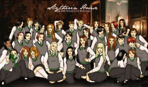 Slytherin House by slyfoxesq