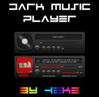 Dark Music Player by hekee