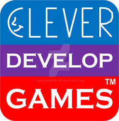 Clever Develop Games logo by maxiandrew
