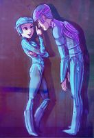 Tron and Yori by basalt