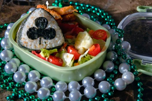 St Patricks Day Bento by Demi-Plum