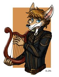 Kody the Bard by TheLivingShadow