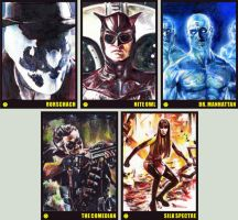Watchmen Sketchcards by RobD4E