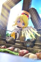 Nendoroid x Overwatch: Eli as Mercy by gale015