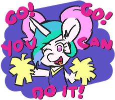You can do it! by ThreeTwoTwo32232