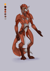 TF OC - Redpride by liongirl2289