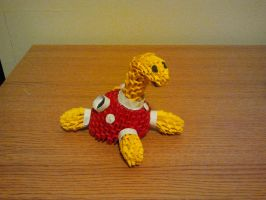 3D Origami Shuckle