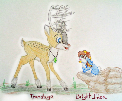Meeting Tyandaga Art Contest by A-Bright-Idea