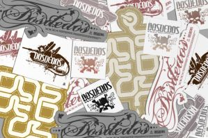 Dosdedos stickers by kniso