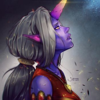 Soraka by simoneferriero