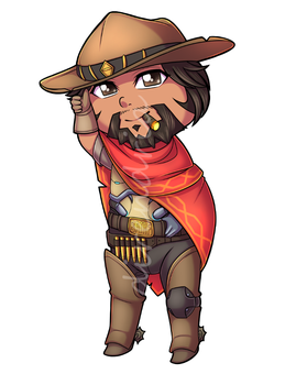 McCree Charm by direndria