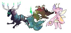 Creature Adopts [AUCTION: CLOSED] by aliwyrm