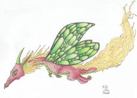 Another Faery Dragon by Scellanis