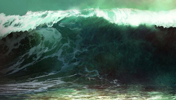 Tidal wave by Siamone