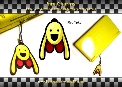 Mr.Toko charm by Pacthesis