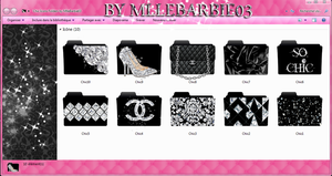 Chic Icons Folders by MlleBarbie03 by mllebarbie03