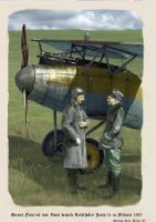 Voss and Richthofen Postcard by zulumike