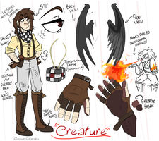 CC: CREATURE Bio (UPDATED!) by CircusCavalier