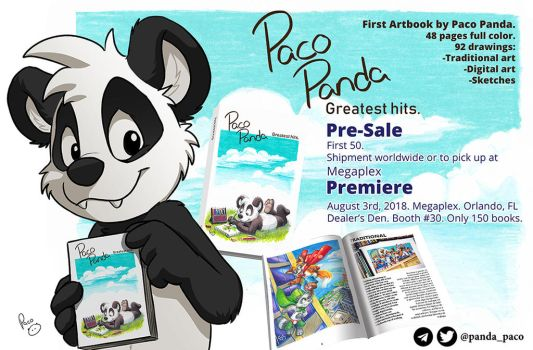 My first artbook: Greatest hits. Pre-Sale. by pandapaco