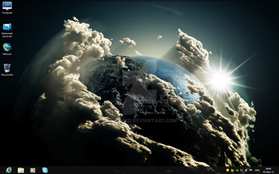 Windows 8 Space by sasomkd