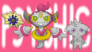 Some Psychic Type Pokemon I haven't drawn before