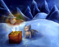 Snow Xmas Mouse by conwolf