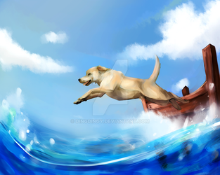 Into the Water by DingDingy