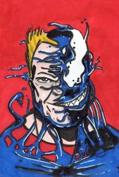 Venom Sketch Card by jonnyblur