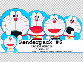 [Renderpack #6]: Doraemon by PalbySolitary