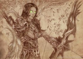 Alanina Dawnborne_WOW by Agregor