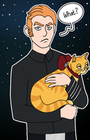 [SW] Hux and Millicent by starlite-decay