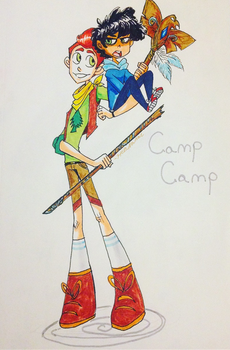 Camp Camp by HezuNeutral