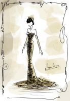 .:fashion illustration | figurine 3:. by StillesWasser
