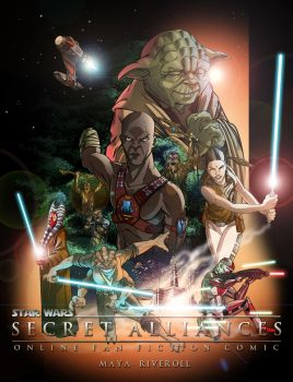 Secret Alliances Teaser Poster by WISHKER
